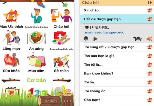 3 app học tiếng Hàn cho iphone bạn nên thử