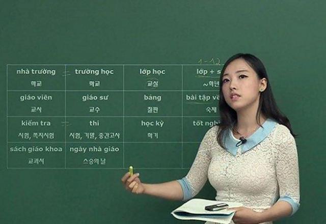 Tổng hợp các clip học tiếng Hàn cơ bản