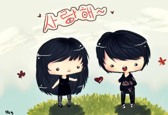 Làm thế nào để nói Anh yêu em trong tiếng Hàn