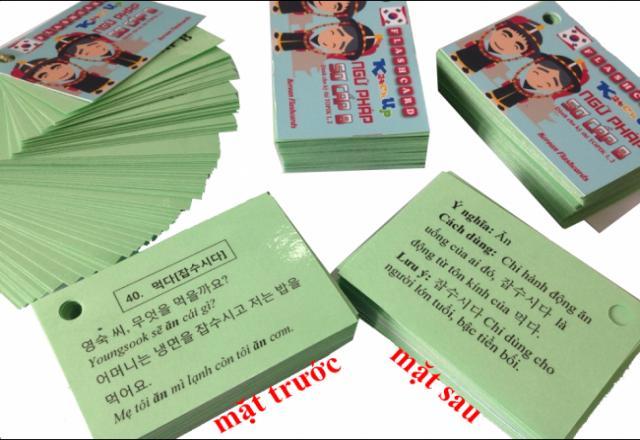 Flashcard - Dạy trẻ học tiếng Hàn theo phương pháp Glenn Doman
