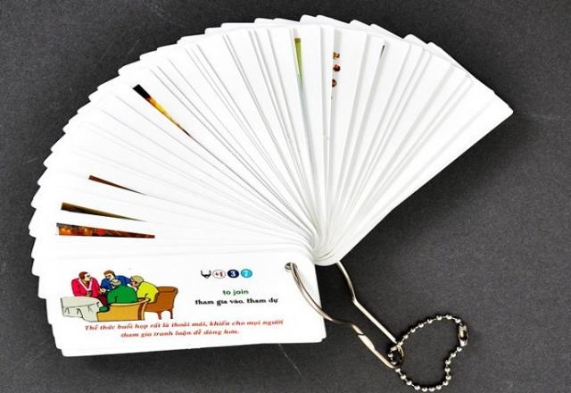 Bỏ túi bí quyết học từ vựng tiếng Hàn bằng thẻ flashCard cực nhanh
