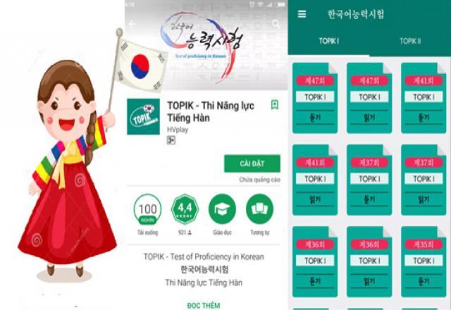 Các phần mềm học tiếng Hàn trên Smartphone và 3 website học hữu ích