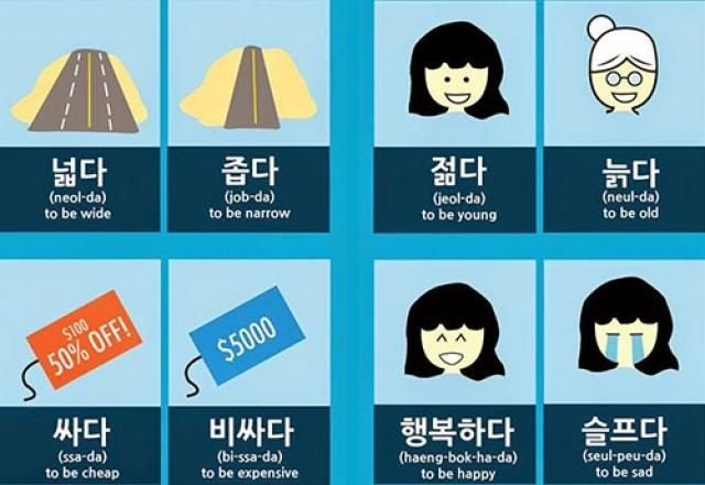 Vui học từ vựng tiếng Hàn bắt đầu bằng 고 và 가