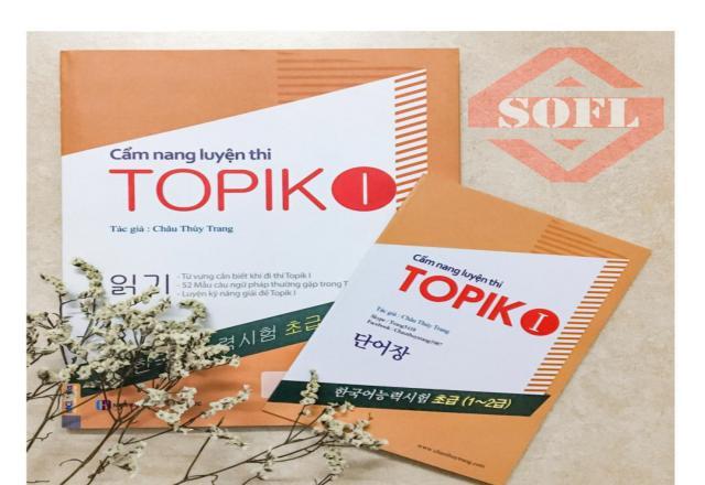 Chia sẻ tài liệu hữu ích ôn thi tiếng Hàn TOPIK I