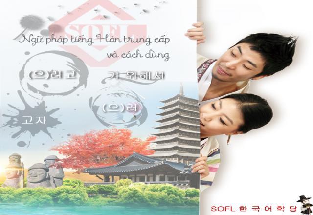 Ngữ pháp tiếng Hàn trung cấp luyện thi TOPIK: Ý đồ, mục đích