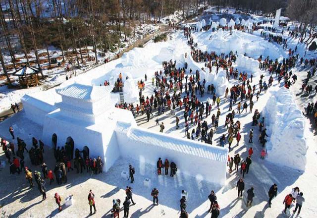 Lễ hội tuyết Taebaeksan - lễ hội đẹp nhất Hàn Quốc vào mùa đông