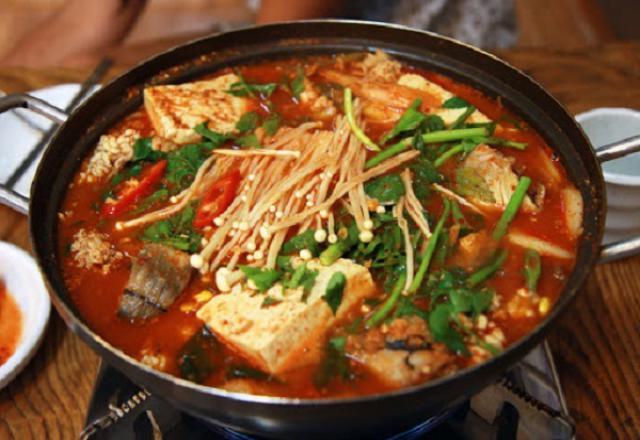 Ẩm thực Hàn Quốc nổi tiếng ở các vùng miền